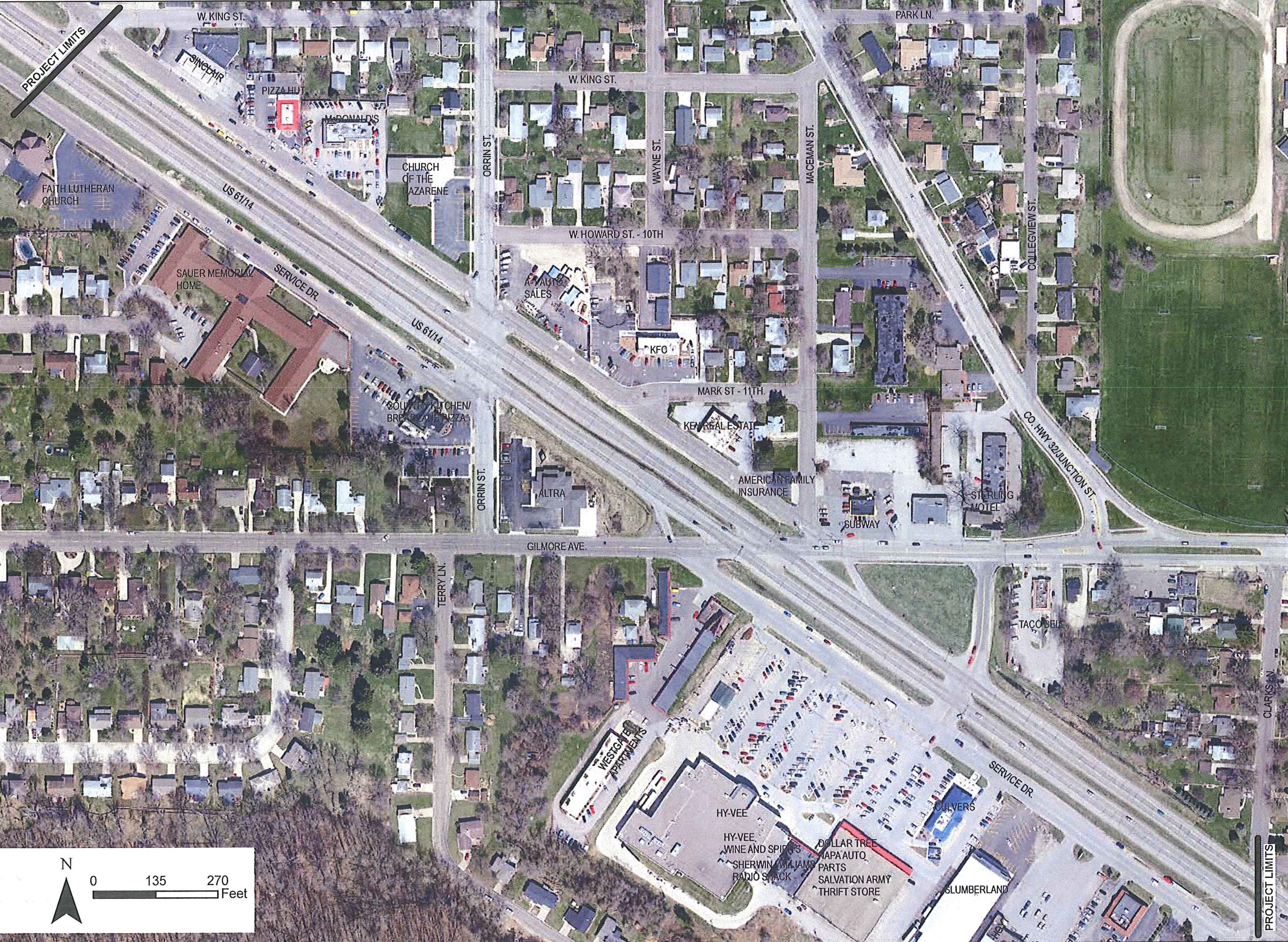 Hwy 61Hwy 14 and Gilmore Ave Intersection Project MnDOT – Mn Dot Travel Map